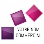 Enseigne logo nom commercial