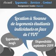 Logements étudiants à Roanne